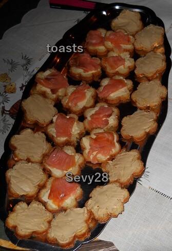 Pains pour moules à toasts