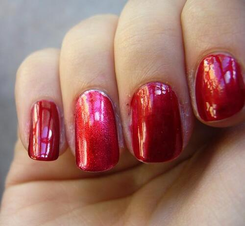 Vernis : NYX Fire Amber