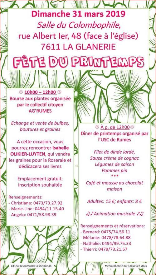 Fête du printemps pour les jardiniers de la région