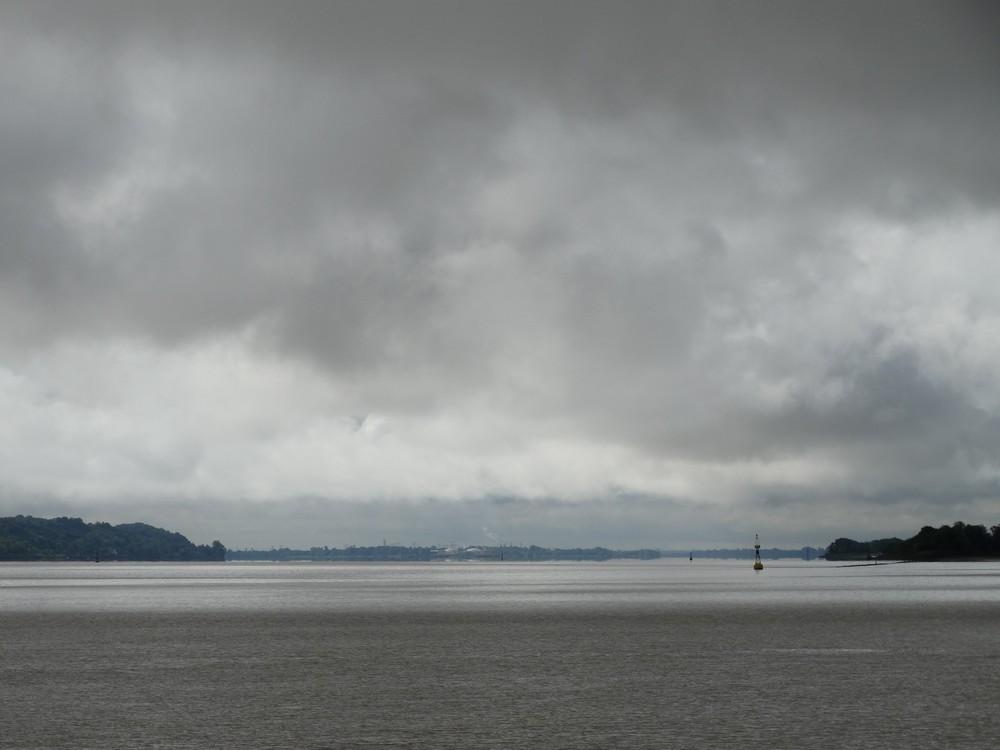 """""""Journée des deux îles"""" sur l'estuaire de la Gironde..."""