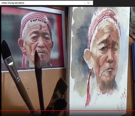 Le vieux chinois...