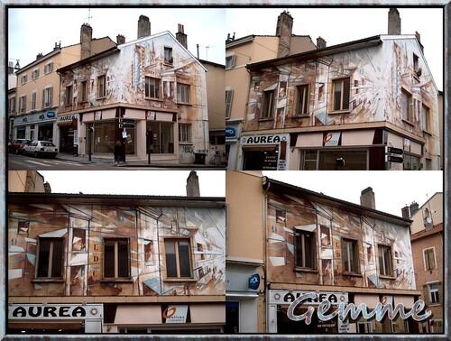 L'U.C.A.O. dans la Grande Rue d'Oullins