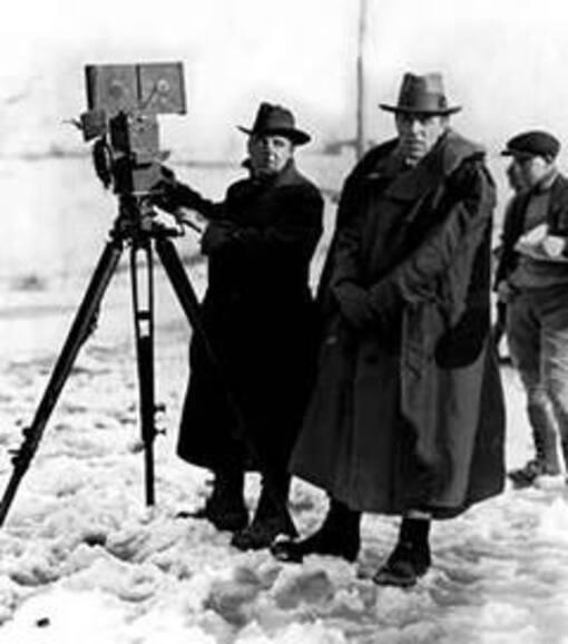 D.W. GRIFFTH tourne WAY DOWN EAST (A travers l'orage ) en janvier 1920.