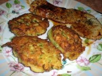 courgette  beignet