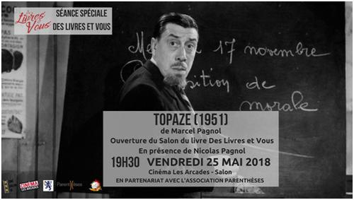 Le 25 mai ouverture du salon Des Livres et vous ...