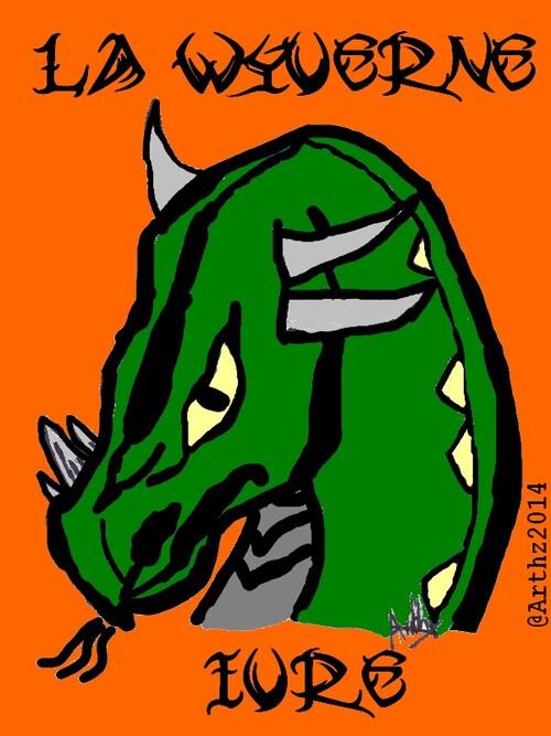 Un logo pour la Wyverne Ivre
