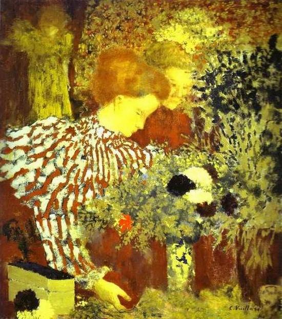Edouard Vuillard, Le corsage rayé