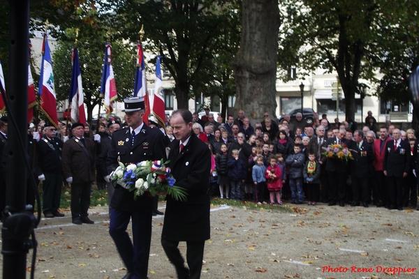 Le 11 novembre 2014 à Châtillon sur Seine