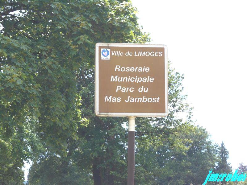 """Un déconfinement total , le parc de la roseraie de Limoges """" 2 """""""
