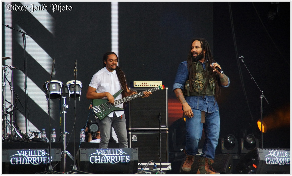 Ky-Mani Marley / Vieilles Charrues 2014