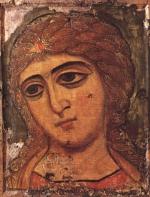 Icône de l'archange Gabriel - Novgorod