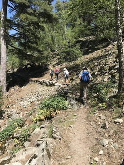 Le chemin de ronde du Valdu Niellu