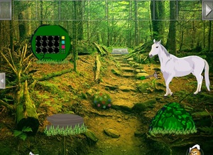 Jouer à Horse hill forest escape