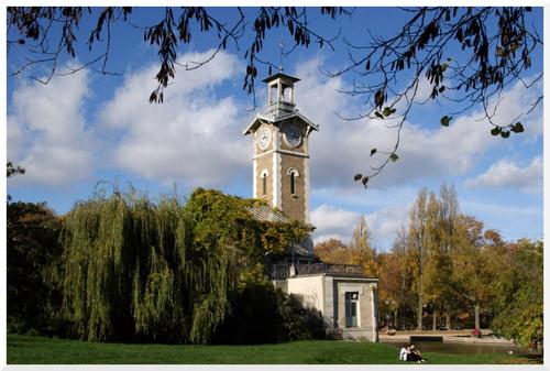 Parc Georges-Brassens. Paris