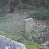 Stèle près de la borne frontière numéro 36 sous le col de Lizuniaga (190 m)