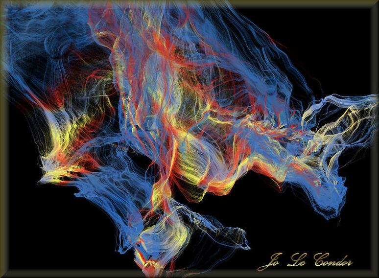 feu et flammes.....En fractales