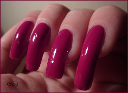 Swatch OPI Miami Beet
