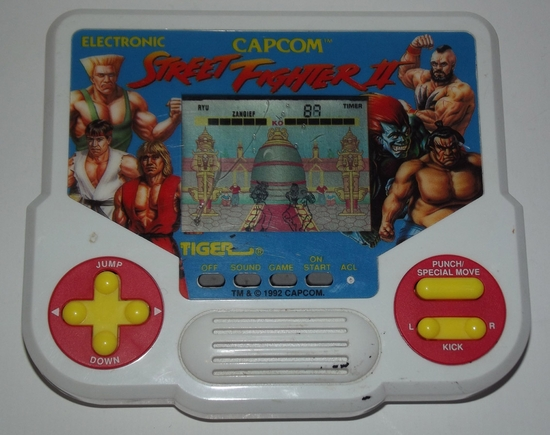 jeux elec tiger street fighter 2