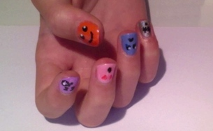 Nail Art•Smiley