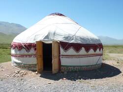 Kirghistan, yourte