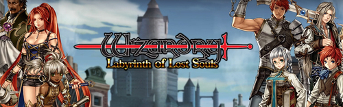NEWS : Wizardry: Labyrinth of Lost Souls daté*