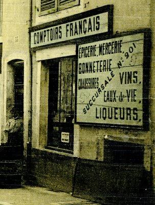 comptoir français