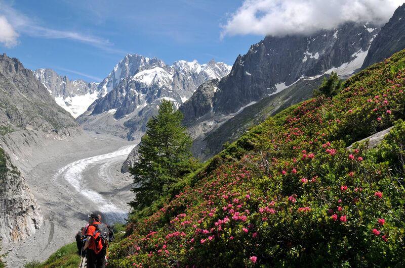 Le Grand Balcon nord de Chamonix (7)