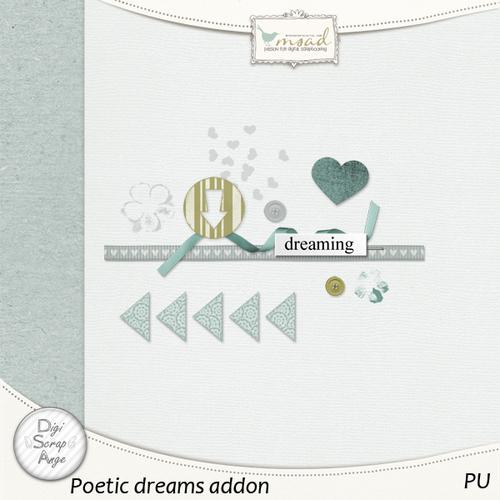Poetic dreams by Digiscrapange