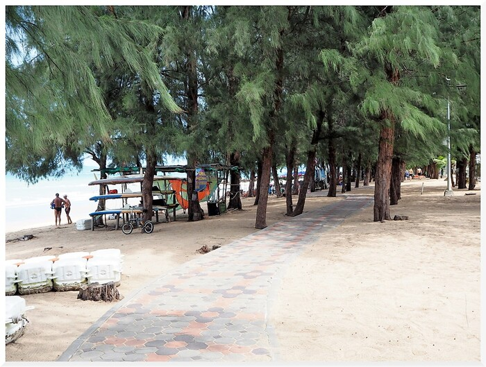 Photos de Thaïlande. Dongtan, plage.