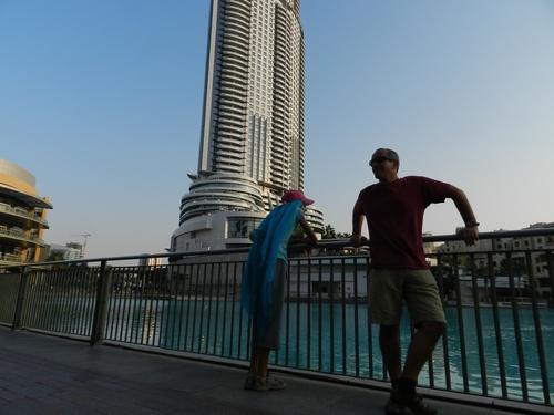 UAE Papa arrive ! papa arrive !