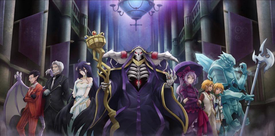 Image result for overlord saisons 2.