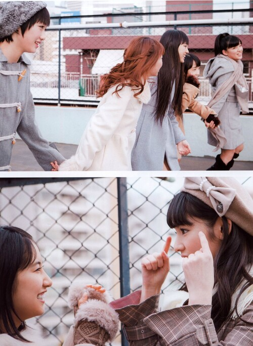 "Apparition de Morning Musume'14 dans ""Girl POP"" et ""B.L.T.U-17 Vol.29"""