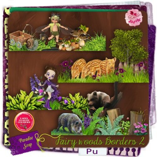KIT FAIRY WOODS DE DESCLICS