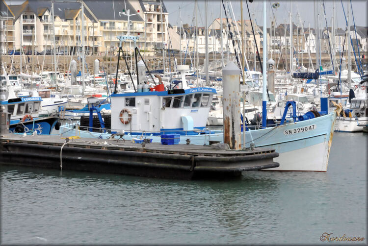 Photo du port de pêche de La Turballe