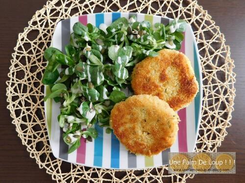Croquettes de pommes de terre au cheddar et jambon cru