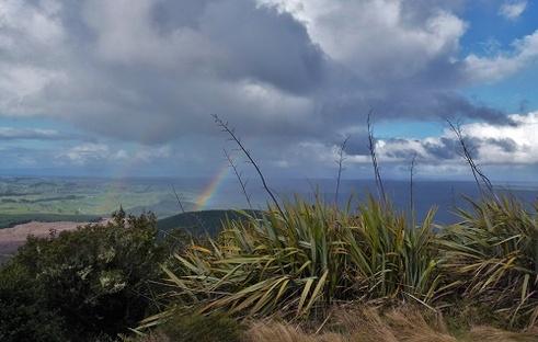 arc-en-ciel aux rainbow mountain