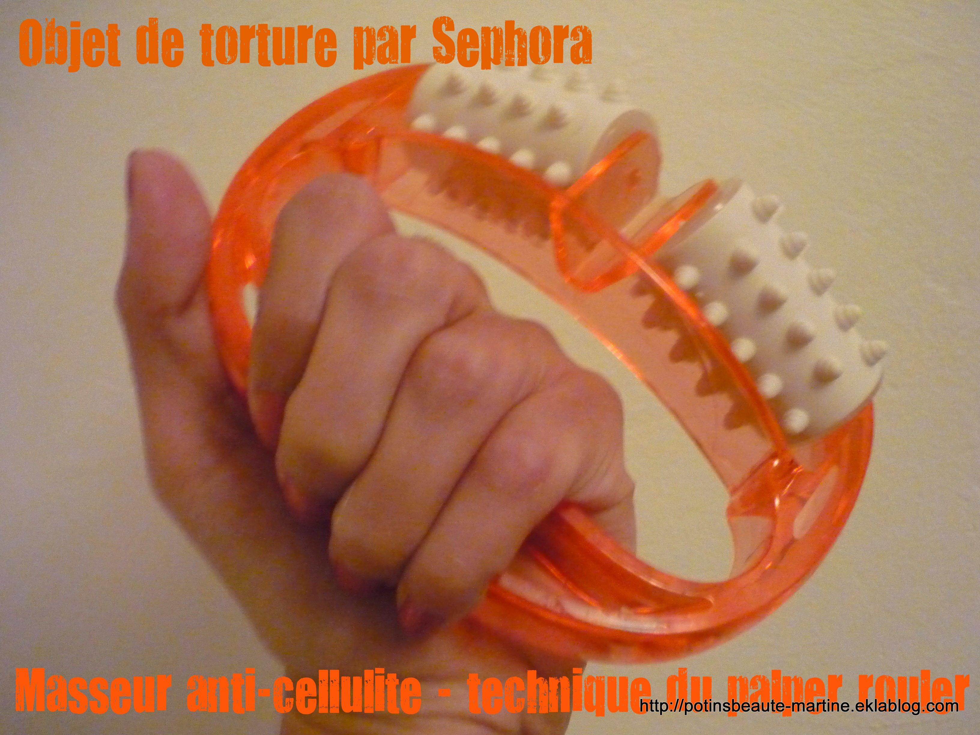 brosse de massage anti cellulite utilisation
