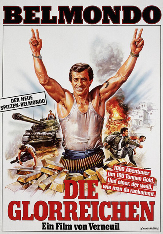 Die Glorreichen  - LES MORFALOUS - JEAN PAUL BELMONDO BOX OFFICE 1984