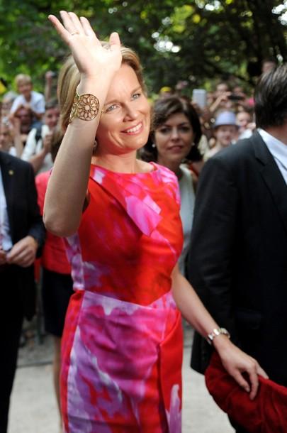 Mathilde et la foule