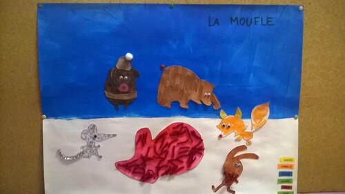 La Moufle : numération - activité artistique