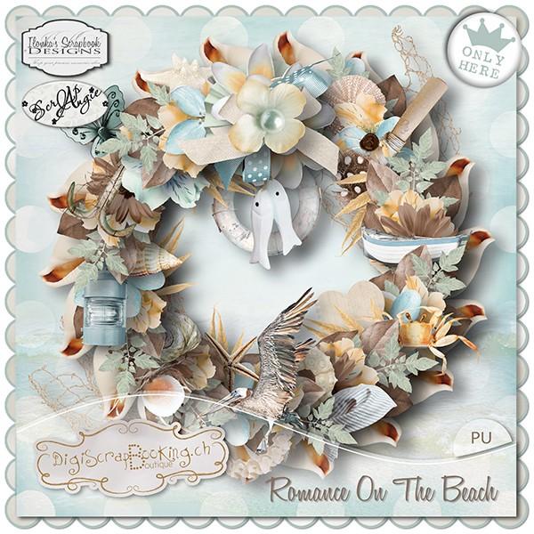Romance On The Beach by Ilonka Scrapbook Designs & Scrap'Angie