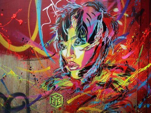 L'art urbain de C215 ou Christian Guémy