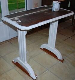 Relookage d'une table...