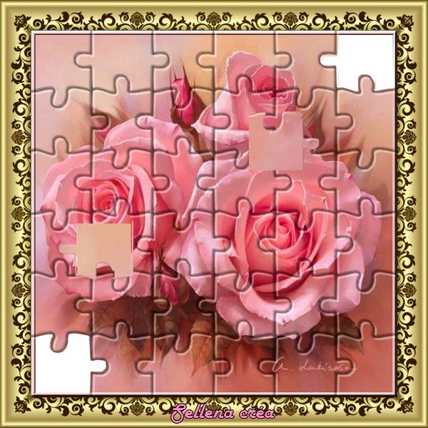 **Tableau Puzzle**défi chez Nathie