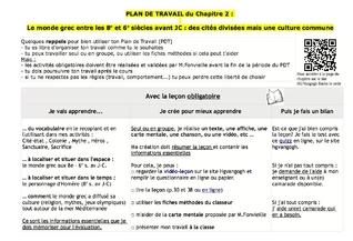 Plan de Travail  Freinet