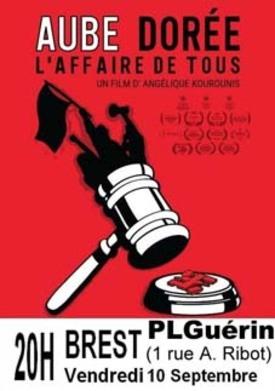 Brest-Vendredi 10/09-20 A voir absolument , le dernier film  d'Angélique Kourounis; un projection de Termaji au Patronage Laïque Guérin suivie d'une discussion avec la réalisatrice et ses co-équipiers