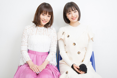 Celebrity Pics : Pictures of interview from website Entertainmentstation of Suzu Hirose & Sakurado Ohara ( Dated 16/03/2017 )