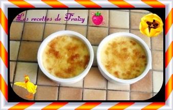 Crèmes brûlées au foie gras