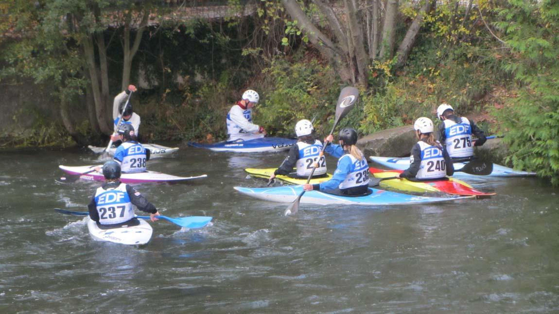 Kayak sur le Charente