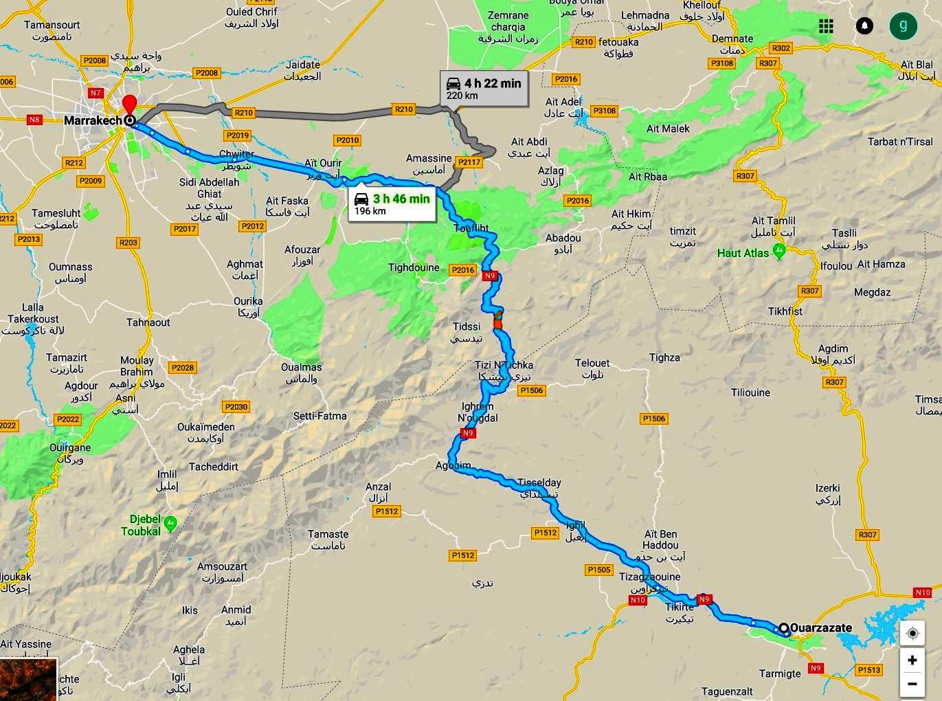 circuit maroc autotour